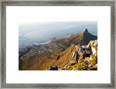 Camps Bay Framed Print by Fabrizio Troiani