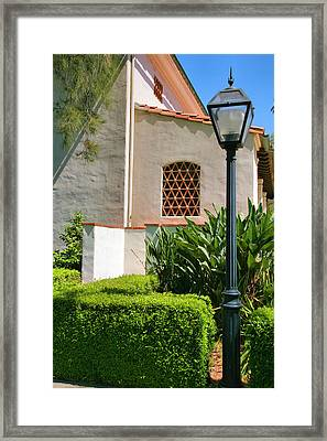 Campus Corner Framed Print by Steven Ainsworth