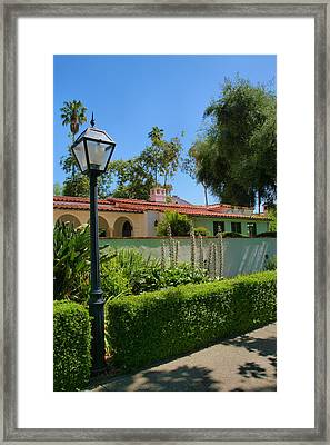 Campus Scene Framed Print