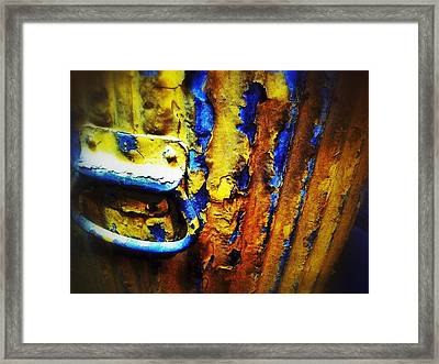 Can Handle Framed Print by Olivier Calas