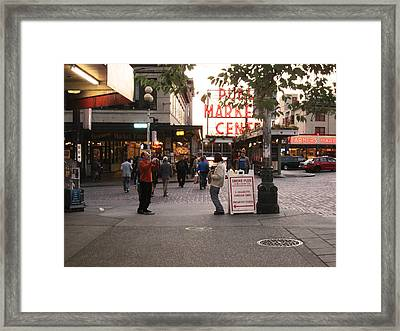 Can I Take Your Picture Framed Print by Kym Backland