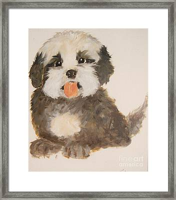 Can You Really Resist Me Framed Print by Rachel Carmichael