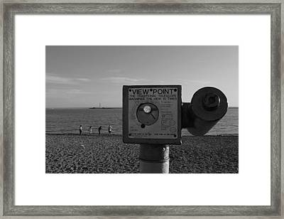 Can You Sea Me Framed Print by Kevin Bates