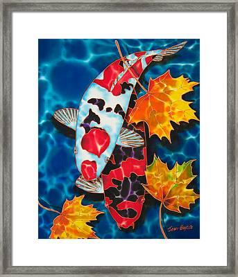 Canadian Koi Framed Print by Daniel Jean-Baptiste