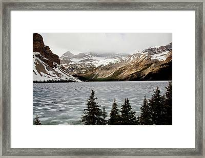 Canadian Lake 1899 Framed Print by Larry Roberson