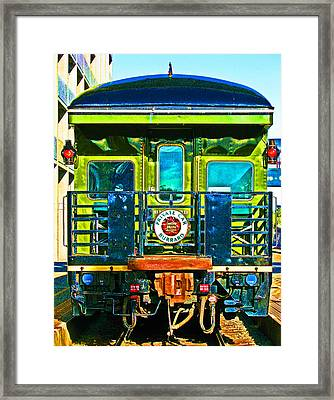 Canadian Pacific Railways Private Car Framed Print by Samuel Sheats
