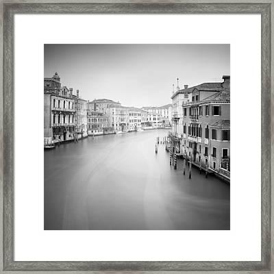 Canal Grande Study II Framed Print by Nina Papiorek