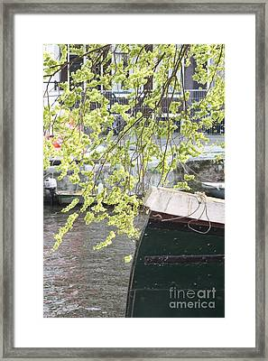 Canal Scene  Framed Print by Rogerio Mariani