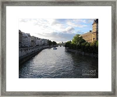 Canals Framed Print