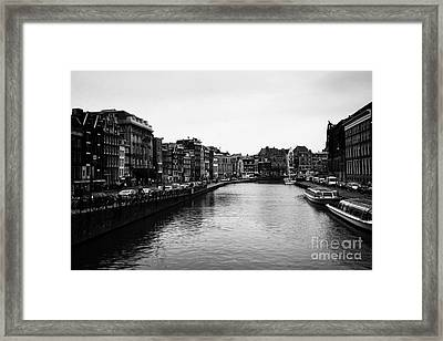 Canals Of Amsterdam Framed Print