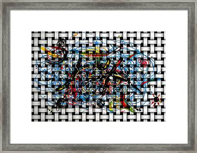 Canasta Framed Print by Patricia  Quinche
