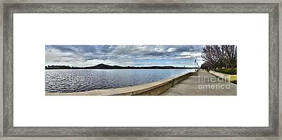 Canberra Foreshore Framed Print