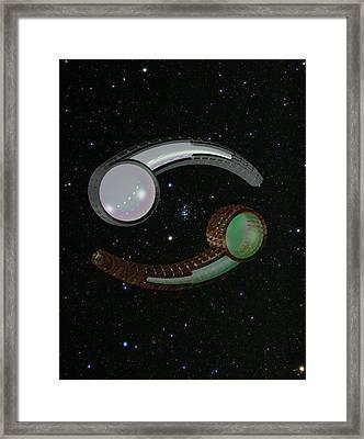 Cancer Framed Print by Sean Green