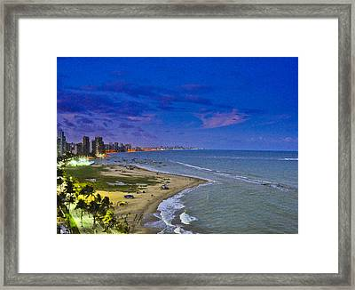 Candeias - View From My Porch Framed Print by Photolao