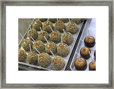Framed Print featuring the photograph Candy Apples by Bill Owen