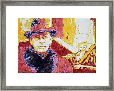 Candy Coated Rachmaninoff Framed Print by Sheri Buchheit
