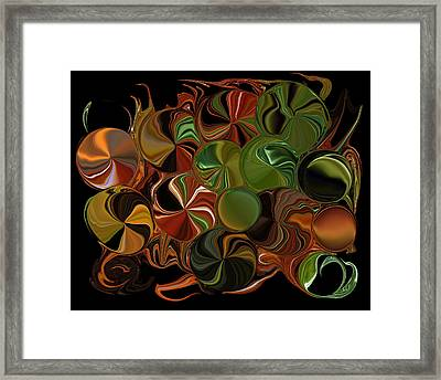 Candy Dish Framed Print by Steven Richardson