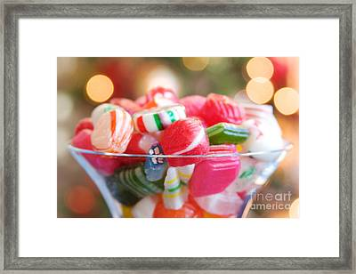 Candy Framed Print by Kim Fearheiley