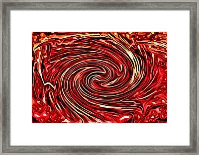 Candy Swirls Framed Print by Rhonda Barrett