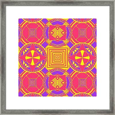 Candy Wrapper Framed Print