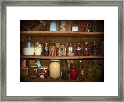 Canning Shed II Framed Print by Sheri McLeroy