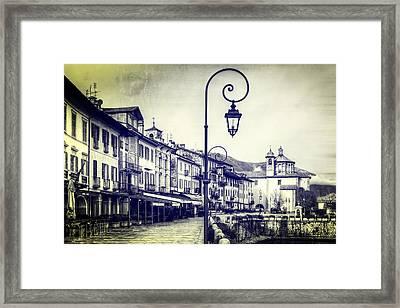 Cannobio Framed Print by Joana Kruse
