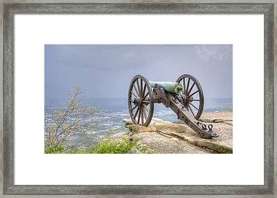 Cannon 2 Framed Print by David Troxel