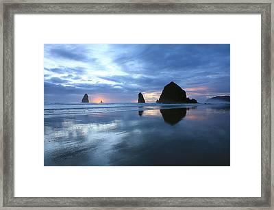 Cannon Beach Oregon Framed Print by Kami McKeon