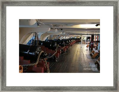 Cannons Of The Constitution Framed Print