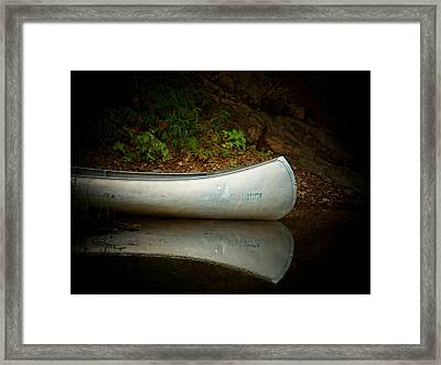 Canoe Framed Print by Joyce Kimble Smith