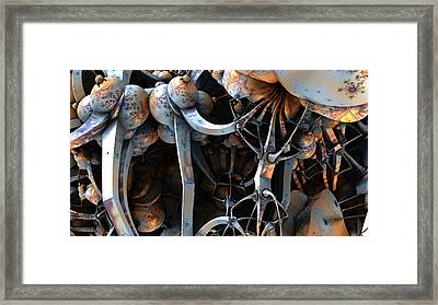 Can't Get There From Here Framed Print