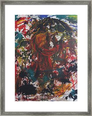 Can't Hide From Sin Framed Print by Shadrach Ensor