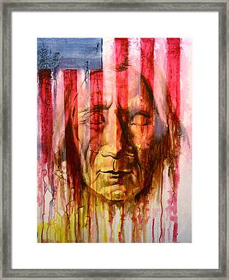 Can't Hide The Past Framed Print by Jerry Frech