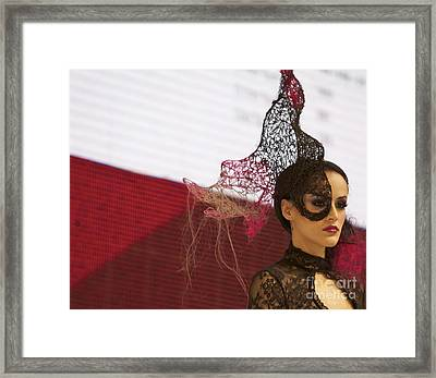 Can't Mask Beauty Framed Print