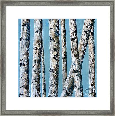 Can't See The Forest For The Trees Framed Print