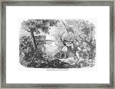 Canterbury Riot, 1838 Framed Print by Granger