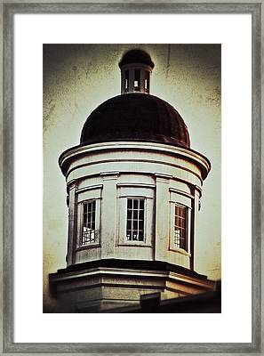 Canton Courthouse Dome Framed Print