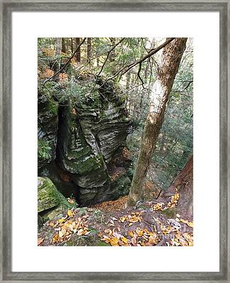 Cantwell Cliffs Framed Print by Gerald Strine