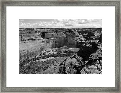 Canyon De Chelly White House Framed Print by Barry Shaffer