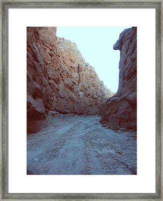 Canyon Framed Print by Naxart Studio