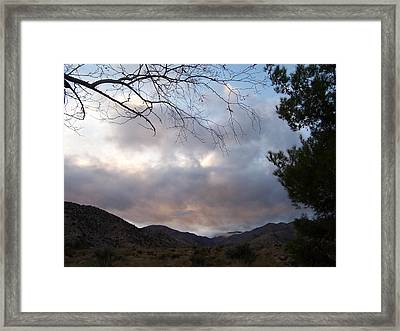Canyon Sky Framed Print