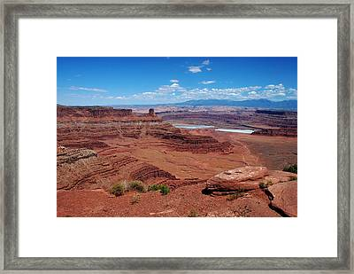 Framed Print featuring the photograph Canyonlands by Dany Lison