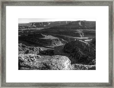 Canyonlands Glory Framed Print