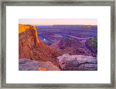 Canyonlands Magical Light Framed Print by Scott McGuire