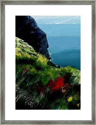 Cap Canille Framed Print by David Bates