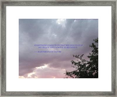 Capability Framed Print by Sonali Gangane