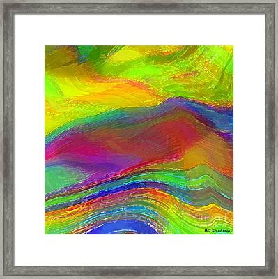 Capacious Framed Print by ME Kozdron