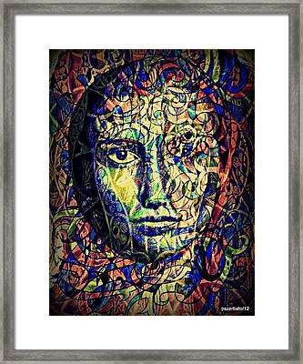 Capacity Of The Abstraction Classification And Categorization Framed Print
