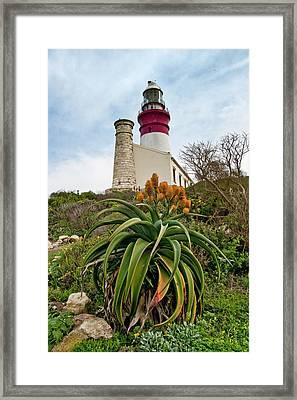 Cape Agulhas  Framed Print