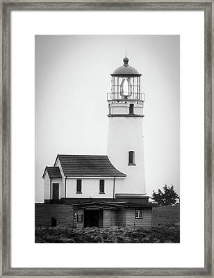 Framed Print featuring the photograph Cape Blanco Beacon by Kevin Munro
